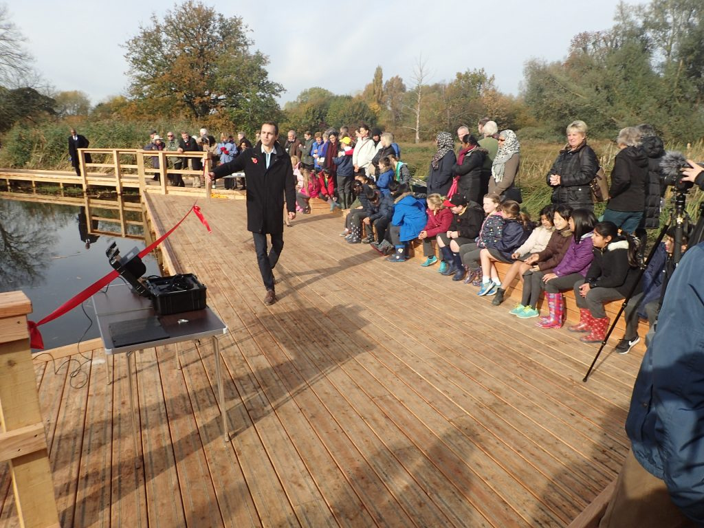 02 morden hall park grand opening national trust property boardwalk and viewing platforms