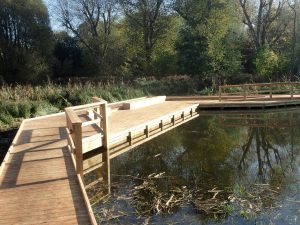 10 morden hall park 250m oak and larch boardwalk nature walk with viewing platforms national trust property
