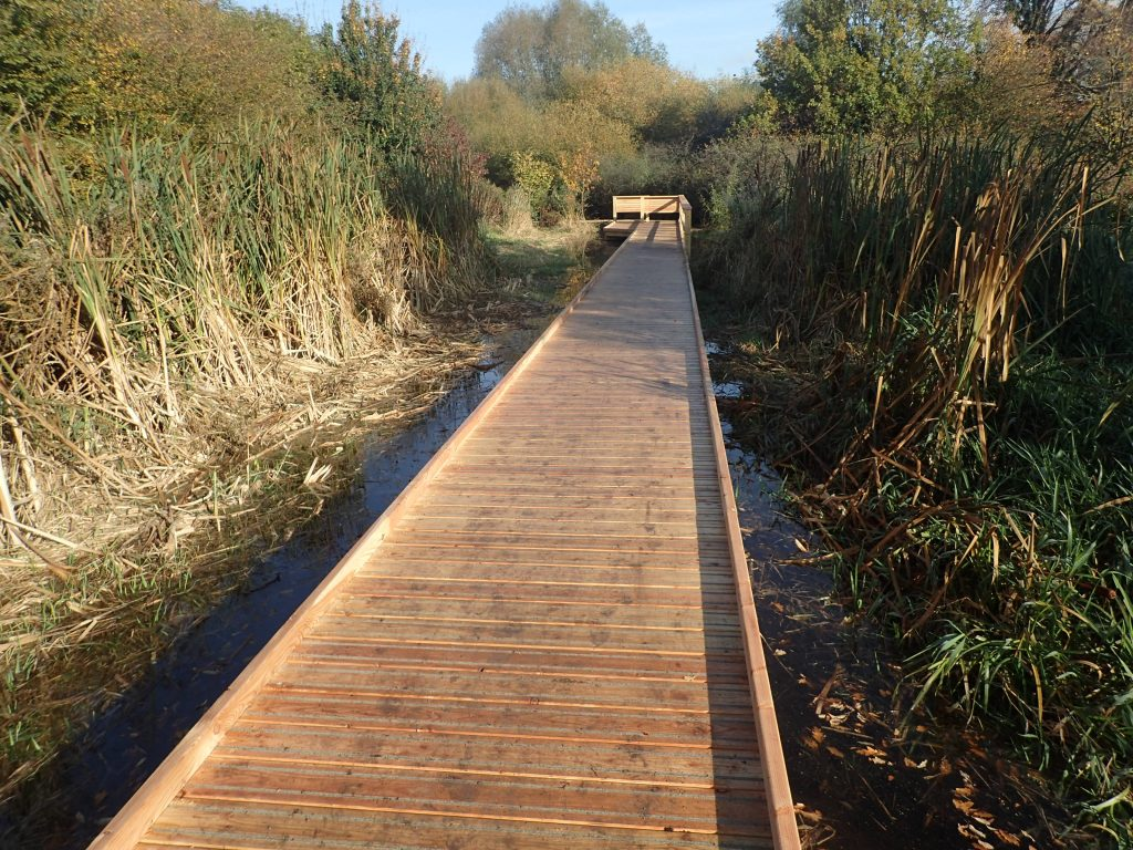 16 morden hall park 250m oak and larch boardwalk nature walk with viewing platforms national trust property