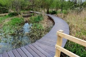 Floating walkways wooden boardwalk bespoke walkways jettys and boardwalks for wetland areas by the wild deck company
