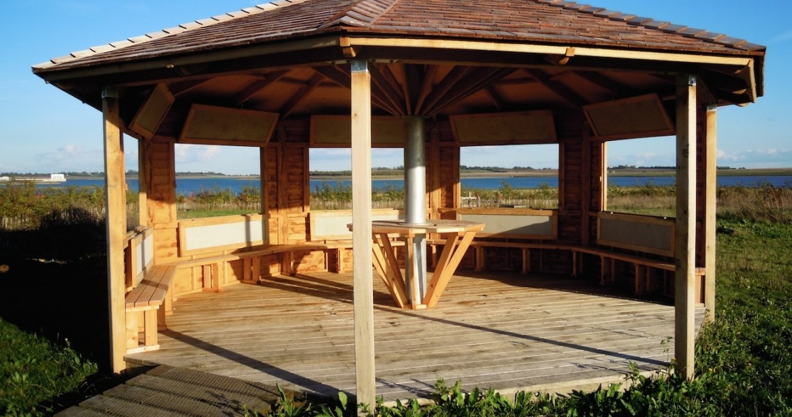 Interior with windows open abberton reservoir childrens timber framed visitor centre by the wild deck company 853 px high