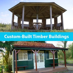 Custom built timber buildings by the wild deck company