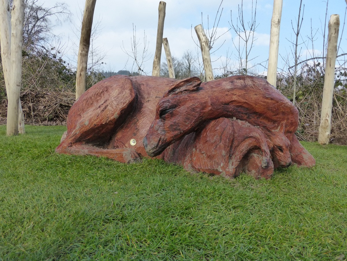 Wooden Sculptures And Carvings The Wild Deck Company