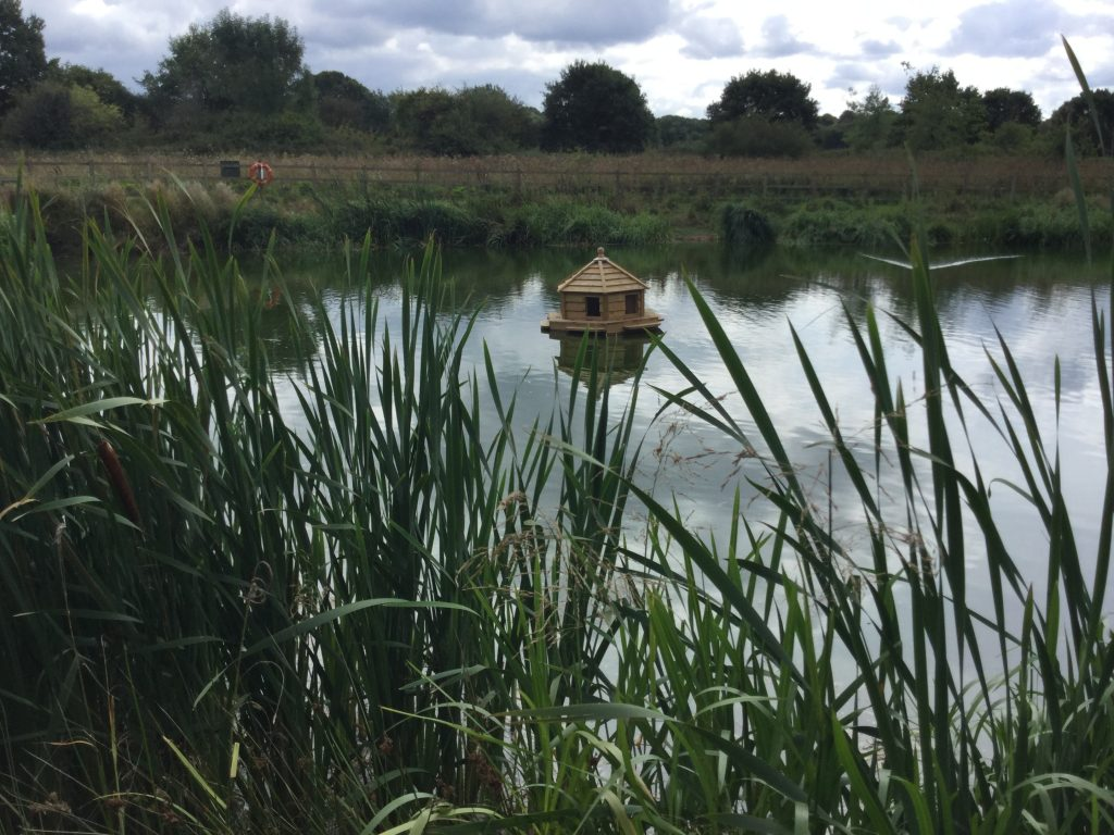 Floating bird house durrants village retirement home lakehouse