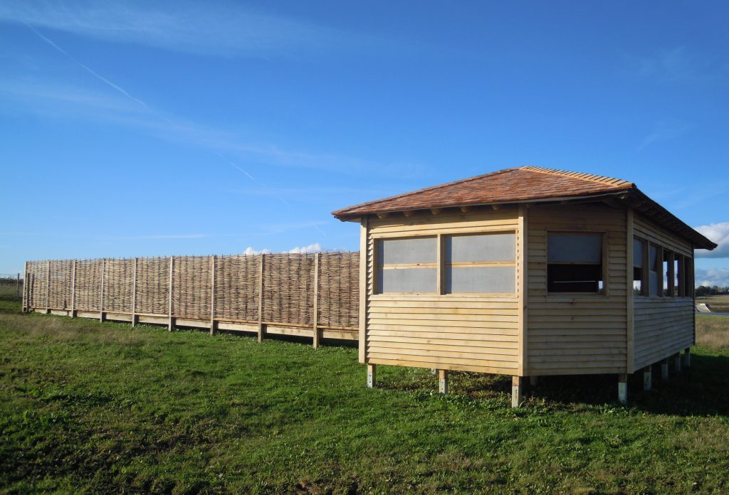 Main view island bird hide at abberton reservoir for essex wildlife trust 1