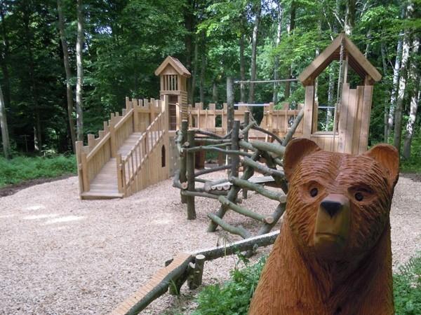 Wallington fort rustic playground