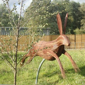 giant hare rushden lakes sculptures