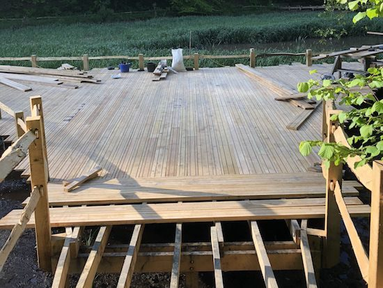 laying decking 1