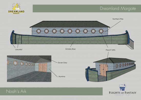 noahs petting ark dreamland computer plans