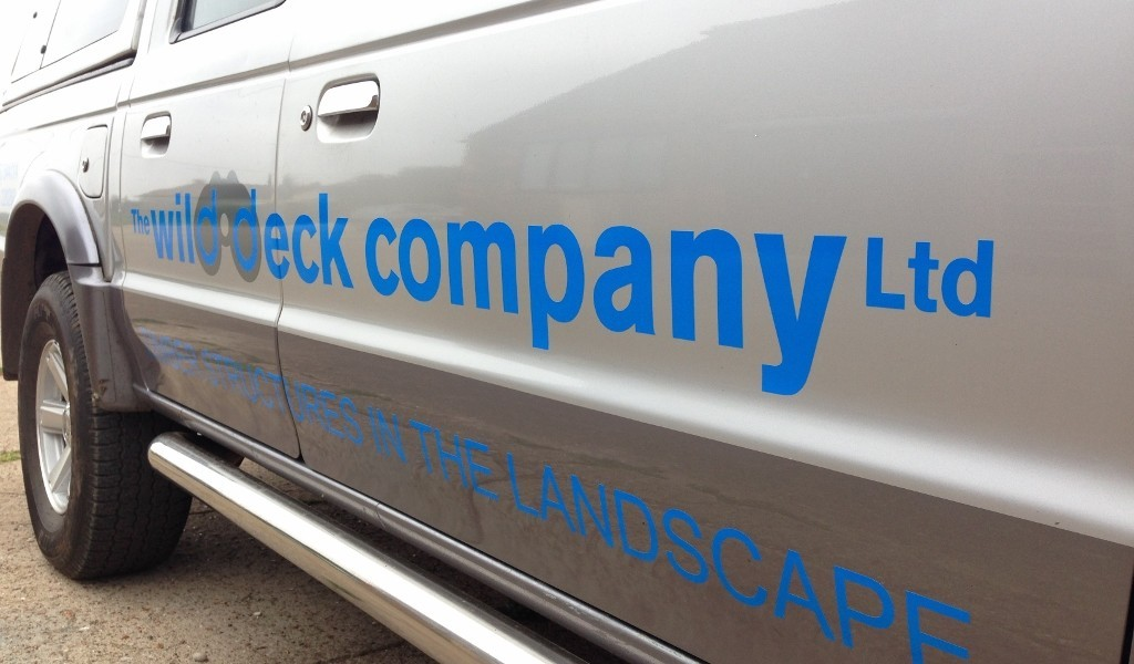 The Wild Deck Company Vehicle Logo