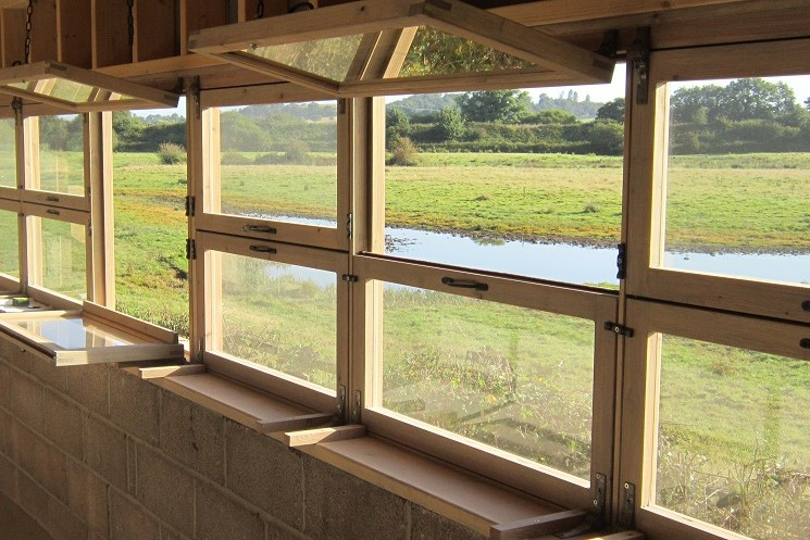 Bird Hide Windows
