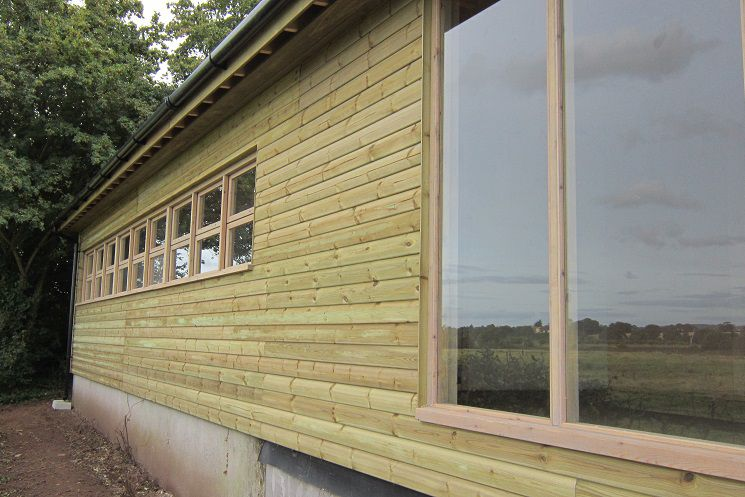 Large Glazed Bird Hide