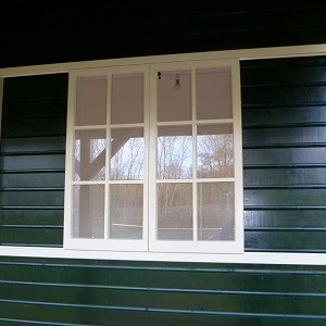 Timber Building Window