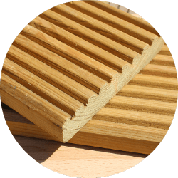 treated softwood decking